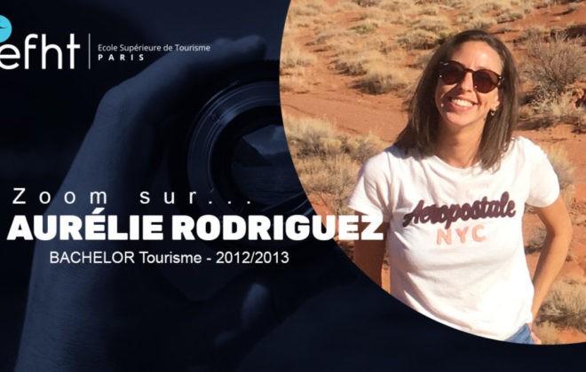 Bachelor tourisme EFHT : Aurélie Rodriguez